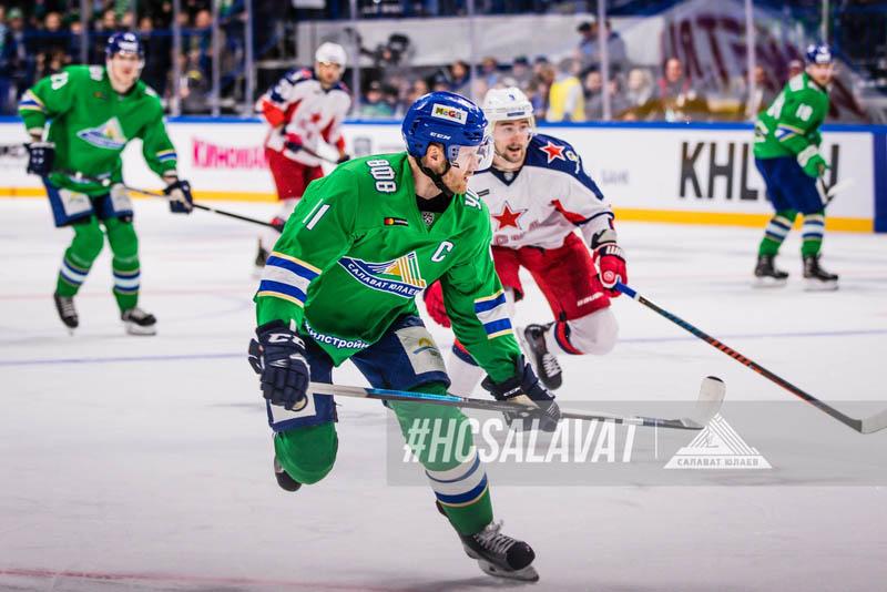 КХЛ дисквалифицировала капитана «Салавата Юлаева»