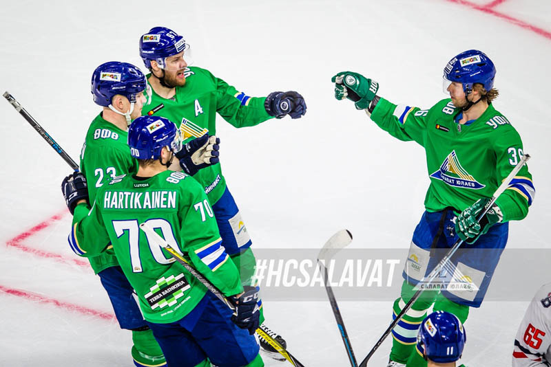 «Салават Юлаев» -«Металлург»: кто фаворит шестого матча?