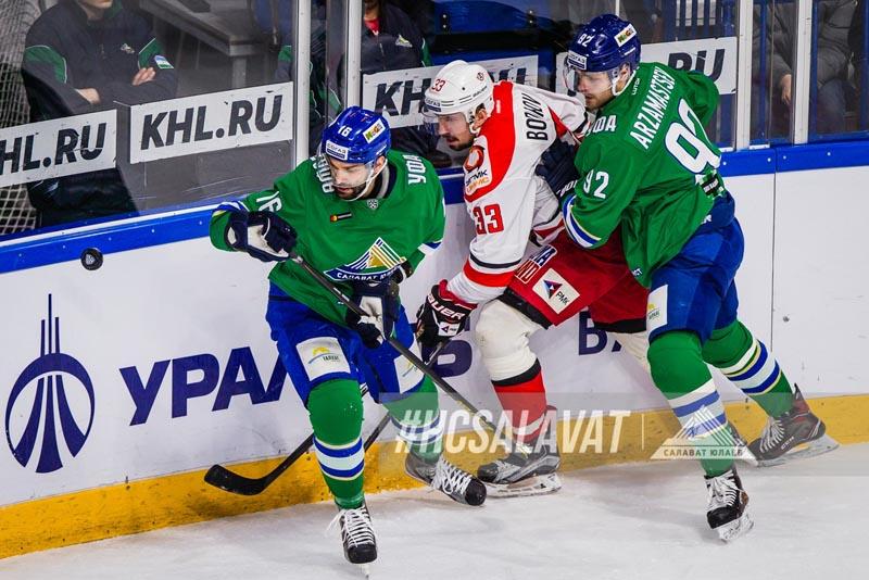 Стал известен состав «Салавата Юлаева» на первый матч против «Автомобилиста»
