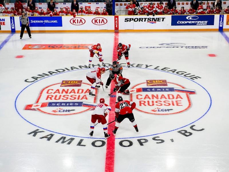Молодой «юлаевец» забил гол в суперсерии с канадцами