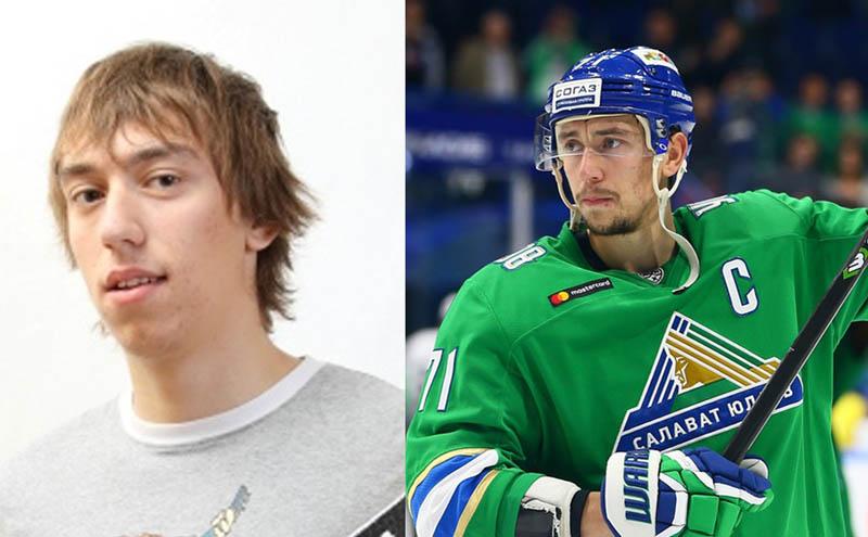 "#10yearschallenge: хоккеисты ""Салавата Юлаева"" 10 лет назад"
