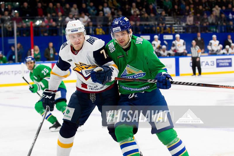 «Салават Юлаев» — «Металлург»: минус два основных хоккеиста