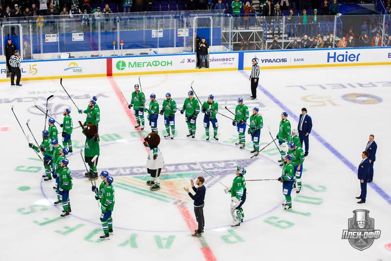 «Салават Юлаев» уступил «Авангарду», но хоккеисты достойны аплодисментов