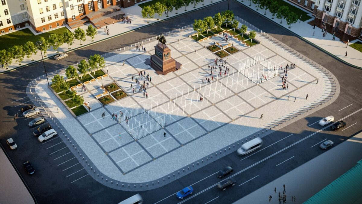 Как будет выглядеть обновленная Советская площадь