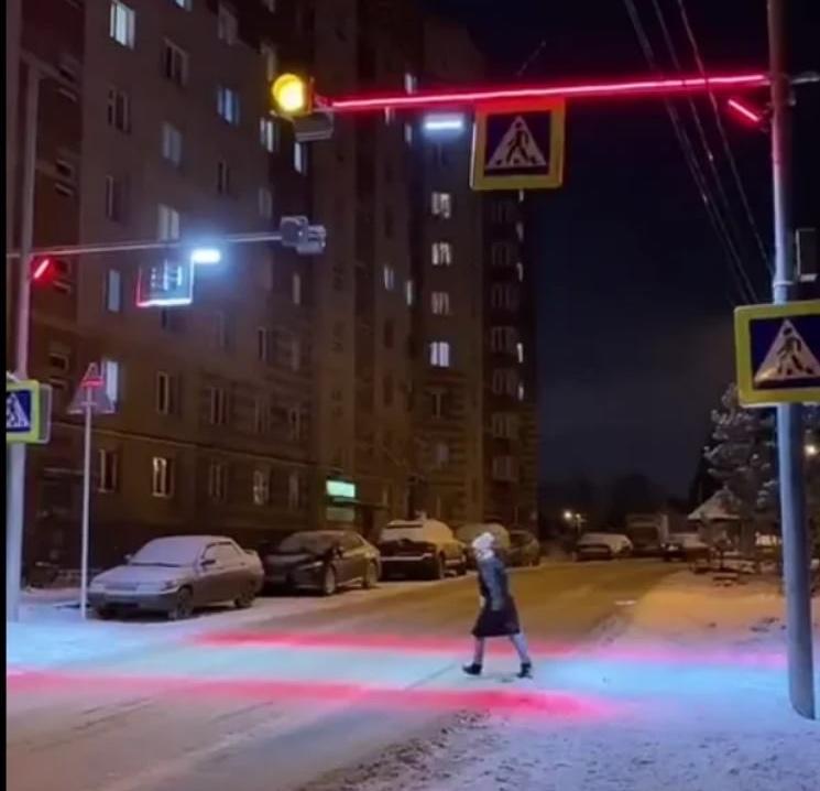 Светофор из Башкирии неожиданно удивил всю Россию
